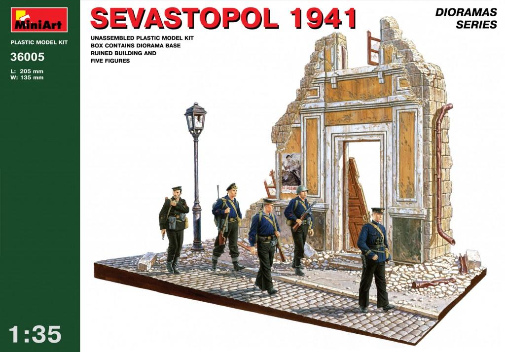 MiniArt Sevastopol 1941. (1/35)