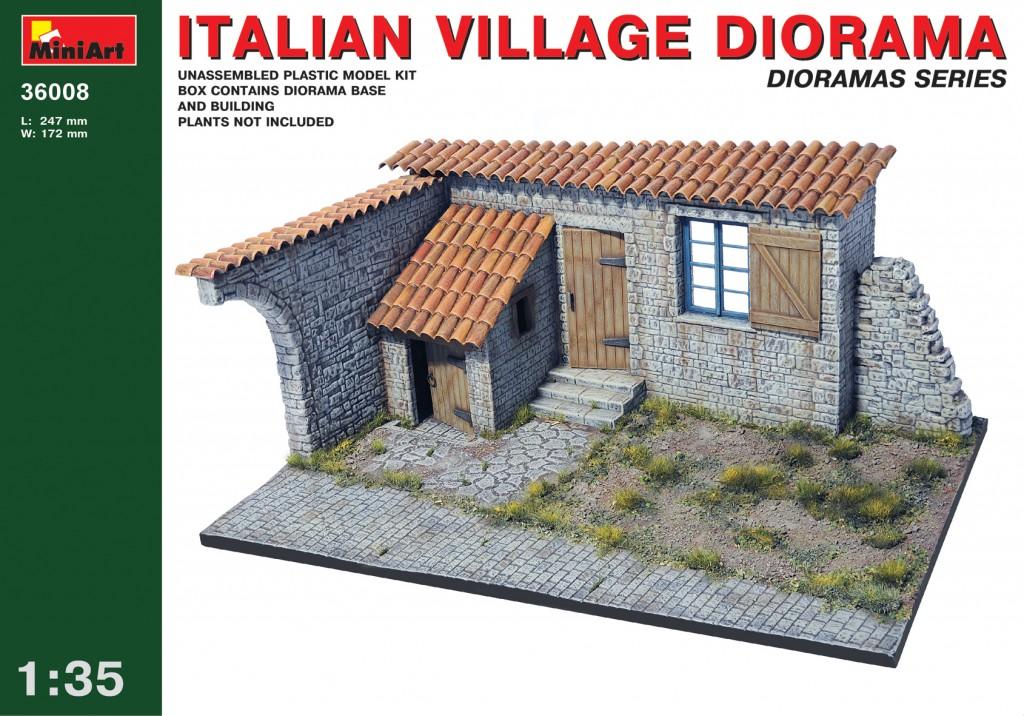 MiniArt Italian Village Diorama (1/35)