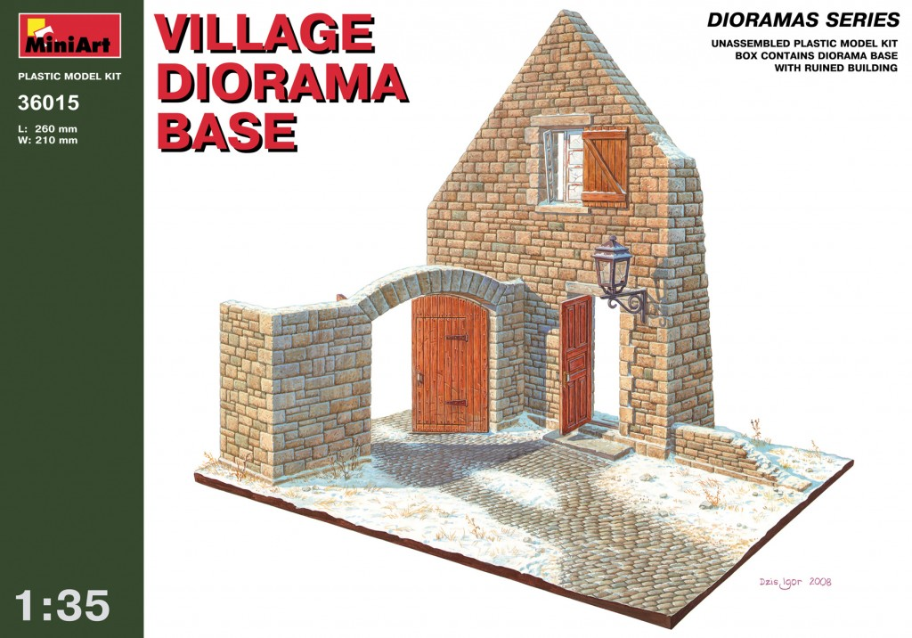 MiniArt Village Diorama Base (1/35)