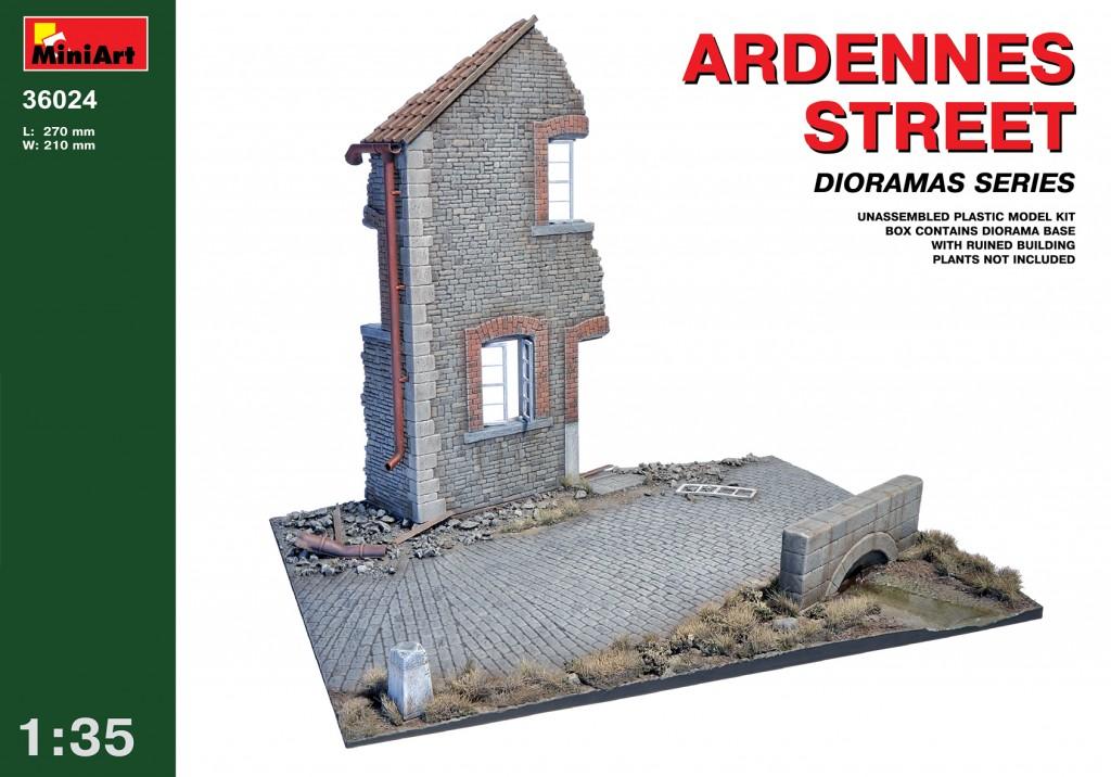 MiniArt Ardennes Street