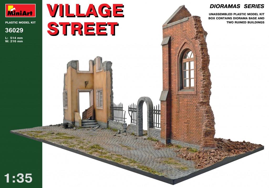 MiniArt Village Street (1/35)
