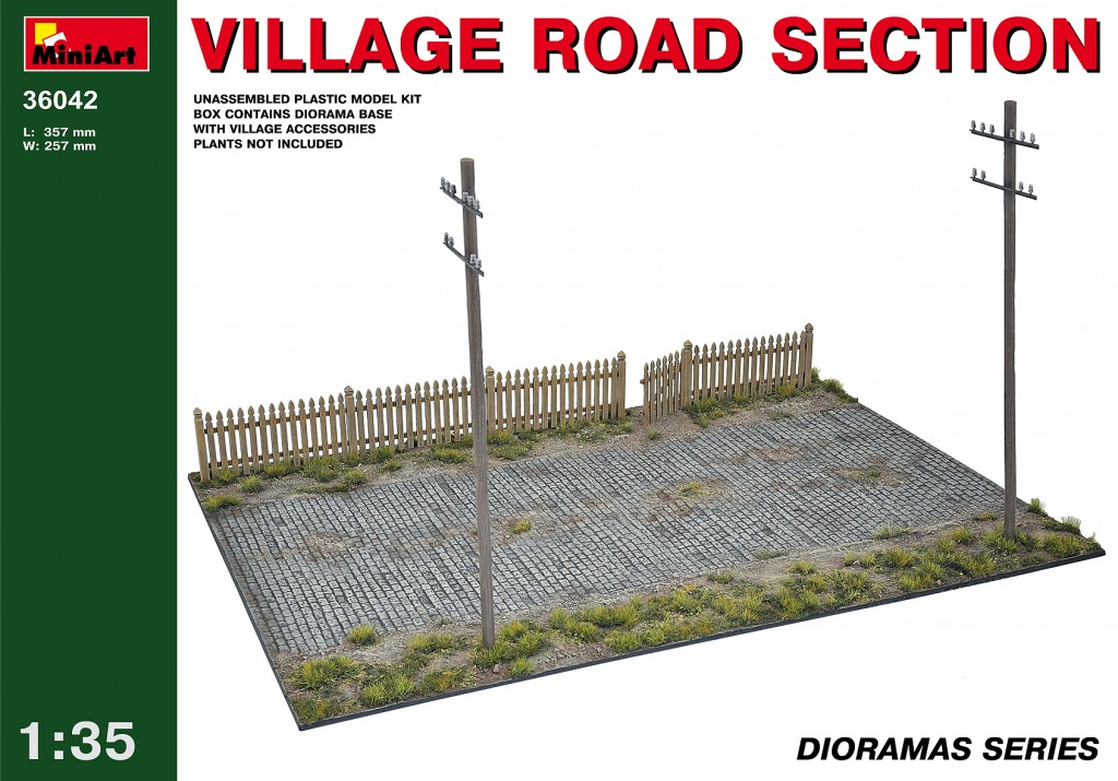 MiniArt Village Road Section (1/35)