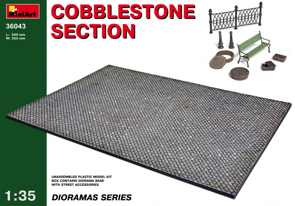 MiniArt Cobblestone Section (1/35)