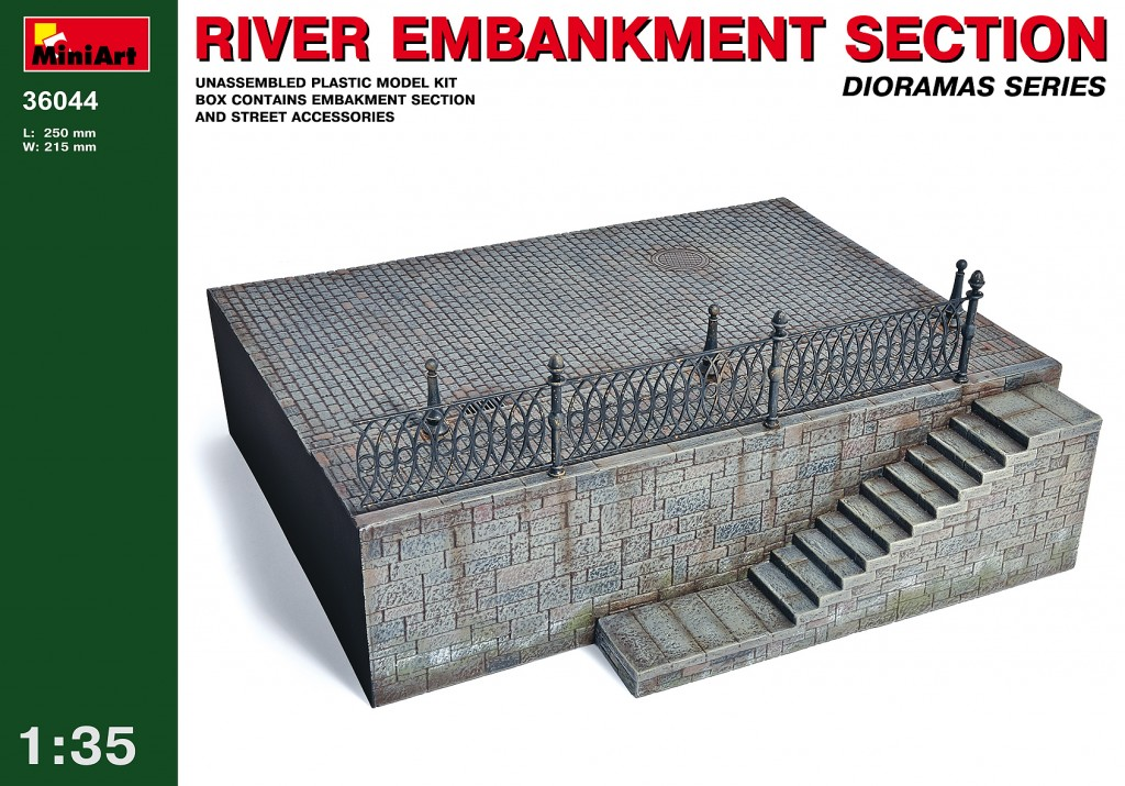 MiniArt River Embankment Section (1/35)