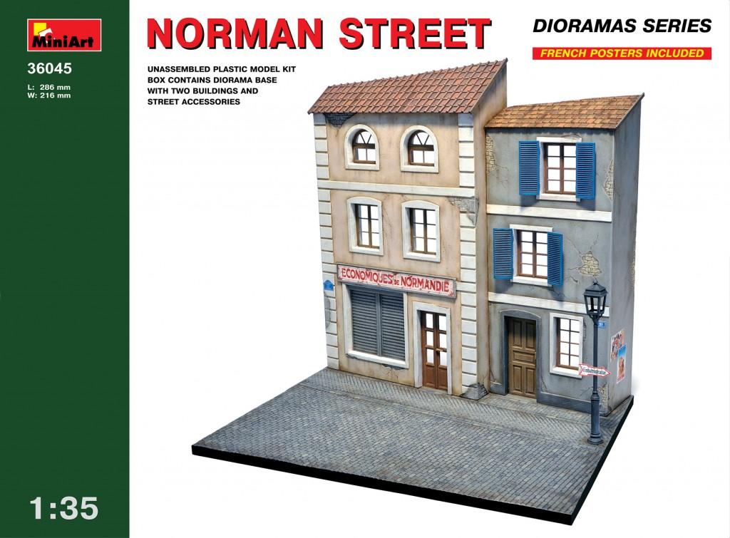MiniArt Norman Street (1/35)