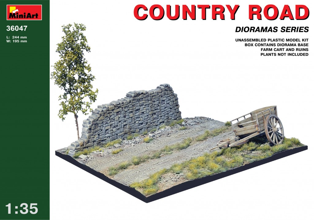 MiniArt Country Road (1/35)