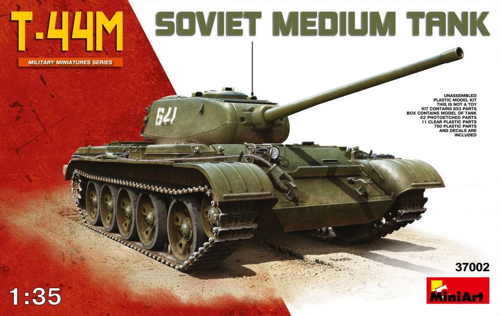 MiniArt T-44 M (1/35)