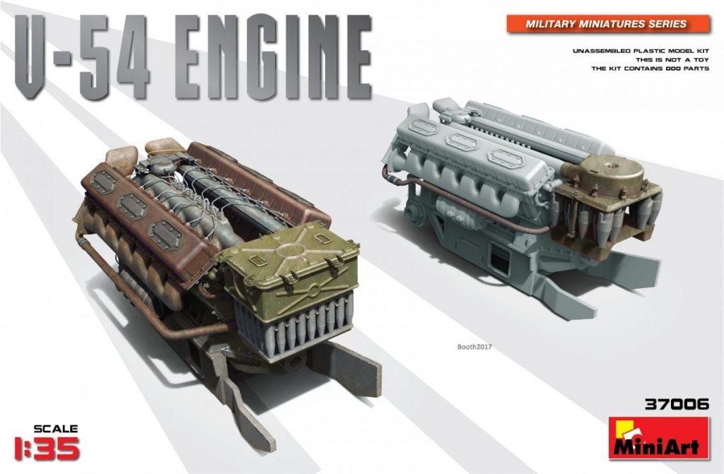 MiniArt V-54 Engine (1/35)