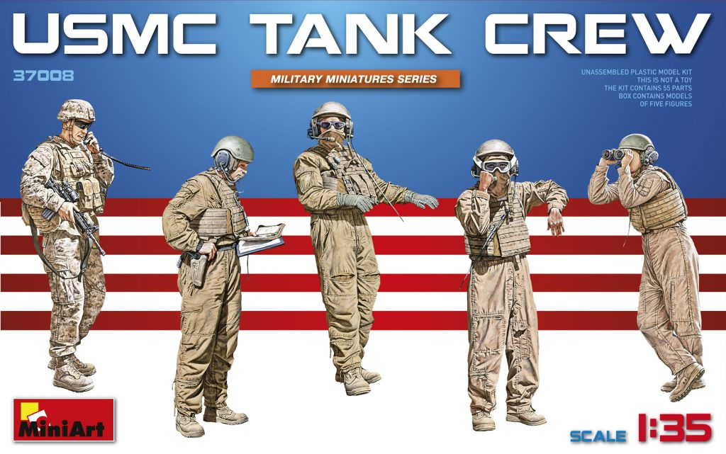 MiniArt 1/35 USMC Tank Crew