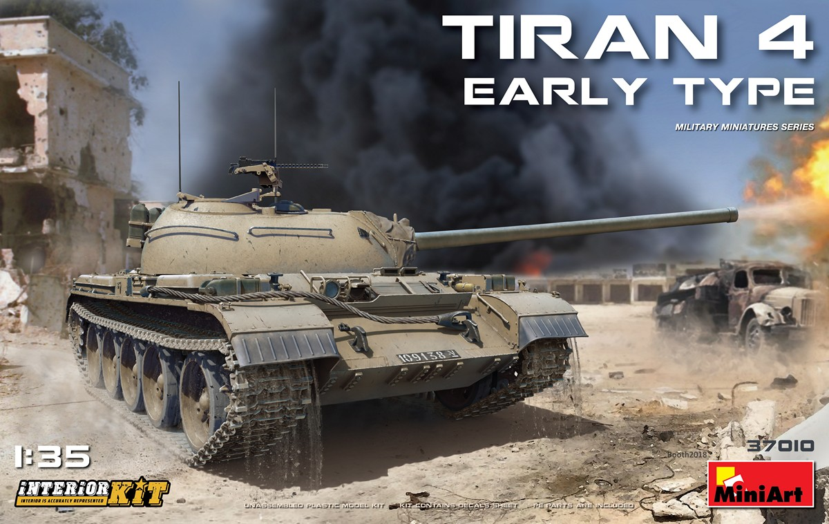 MiniArt Tiran 4 Early Type. Interior Kit (1/35)