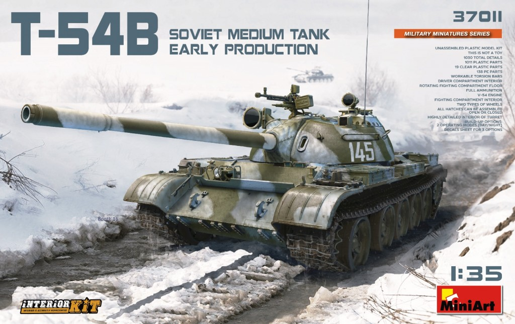 MiniArt Soviet Medium Tank T-54B (Early Production) Interior Kit (1/35)
