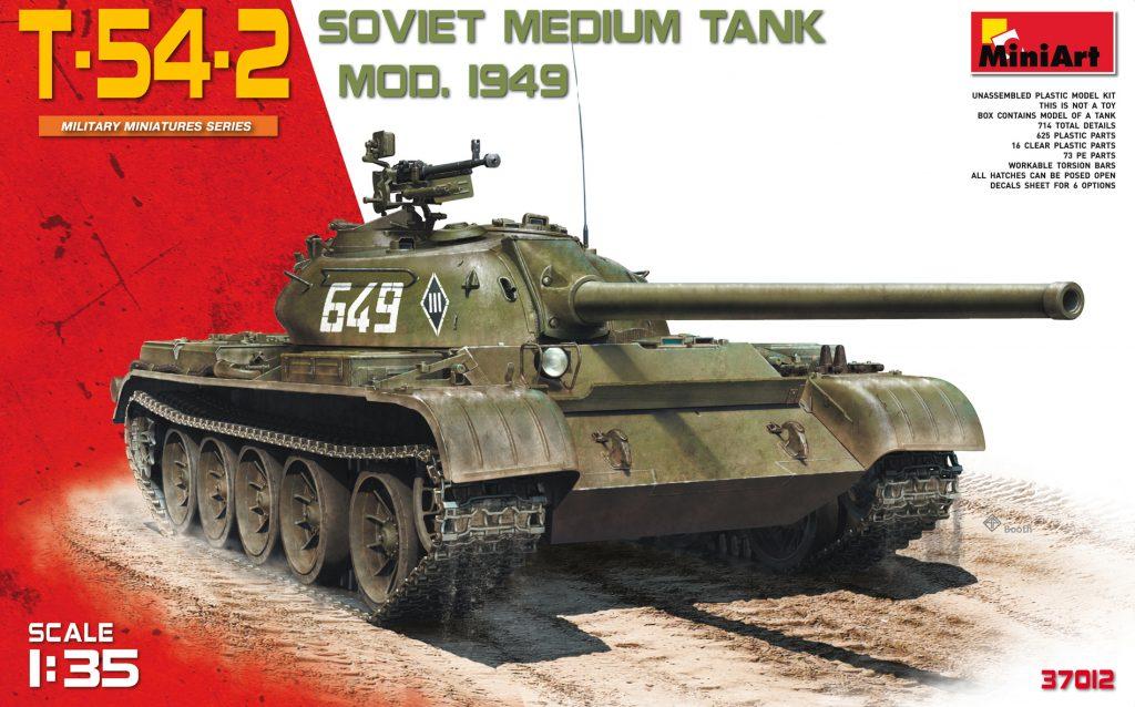 MiniArt T-54-2 Mod. 1949 (1/35)