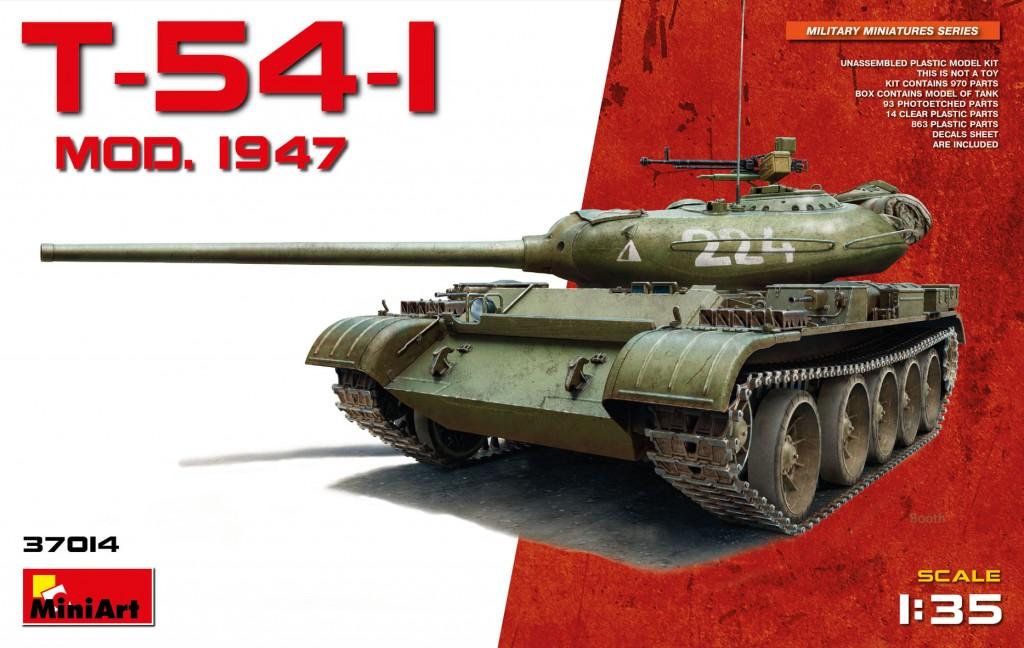 MiniArt T-54-1 Soviet Medium Tank (1/35)