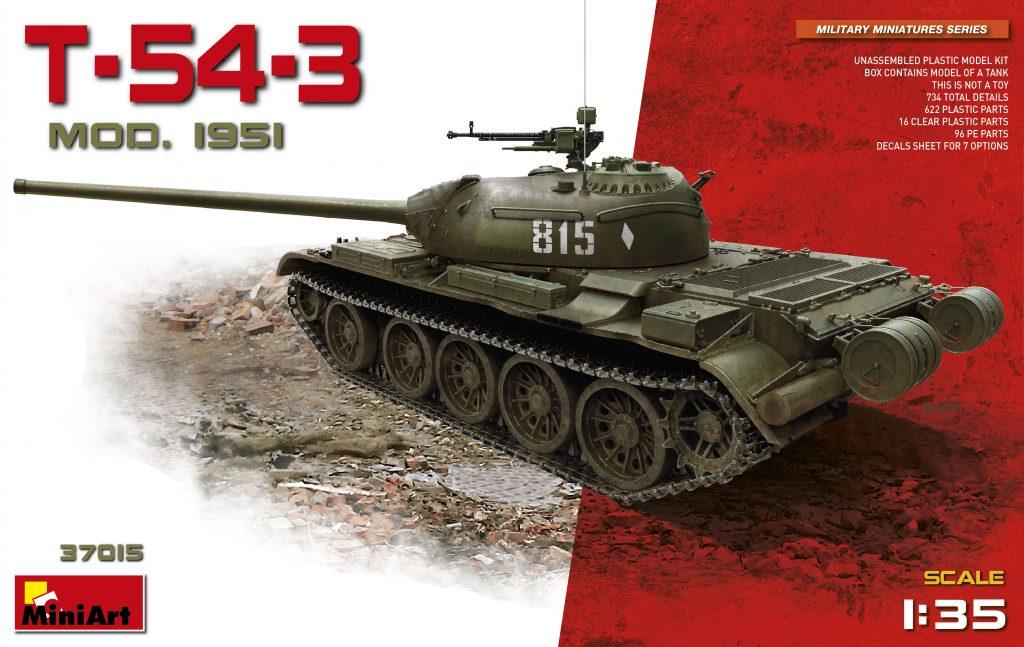 MiniArt T-54-3 Mod. 1951 (1/35)