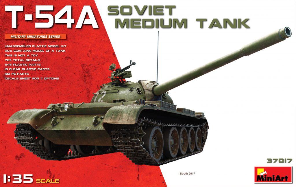 MiniArt T-54A Soviet Medium Tank (1/35)