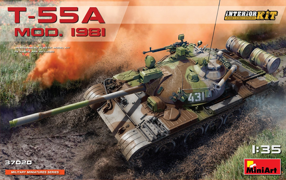 MiniArt T-55A Mod.1981 Interior Kit (1/35)