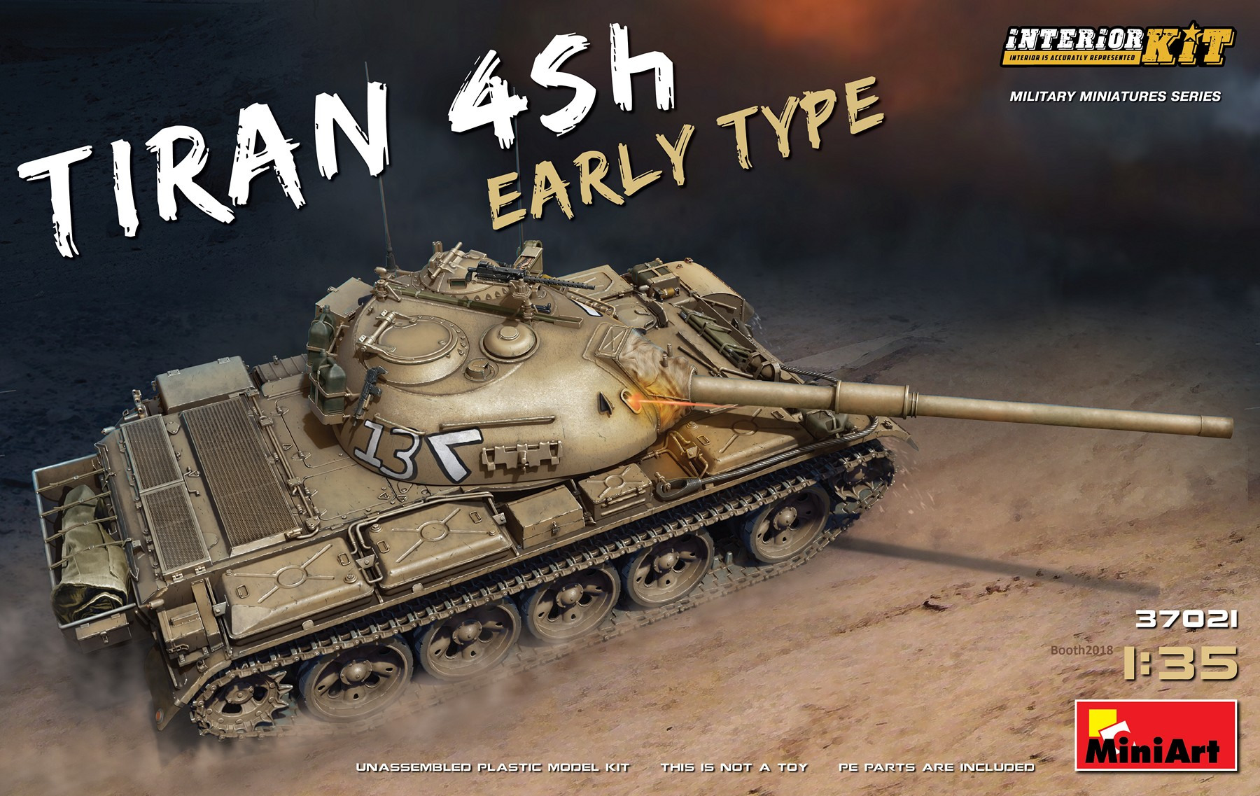 MiniArt Tiran 4 Sh Early Type. Interior Kit (1/35)