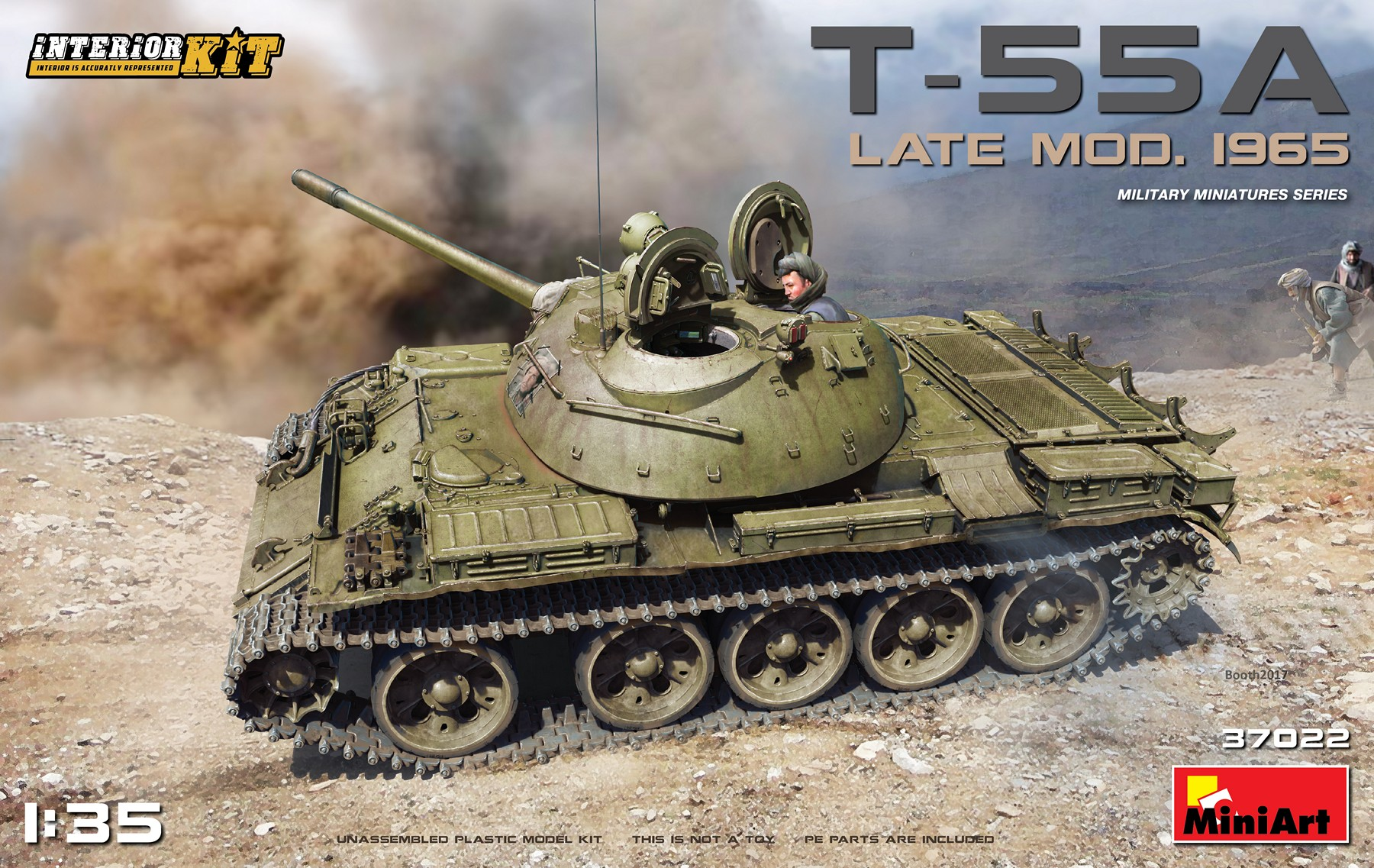 MiniArt T-55A Late Mod. 1965 Interior Kit (1/35)