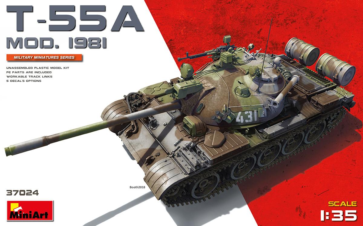 MiniArt T-55A Mod.1981 (1/35)