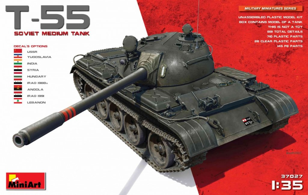 MiniArt T-55 Soviet Medium Tank (1/35)