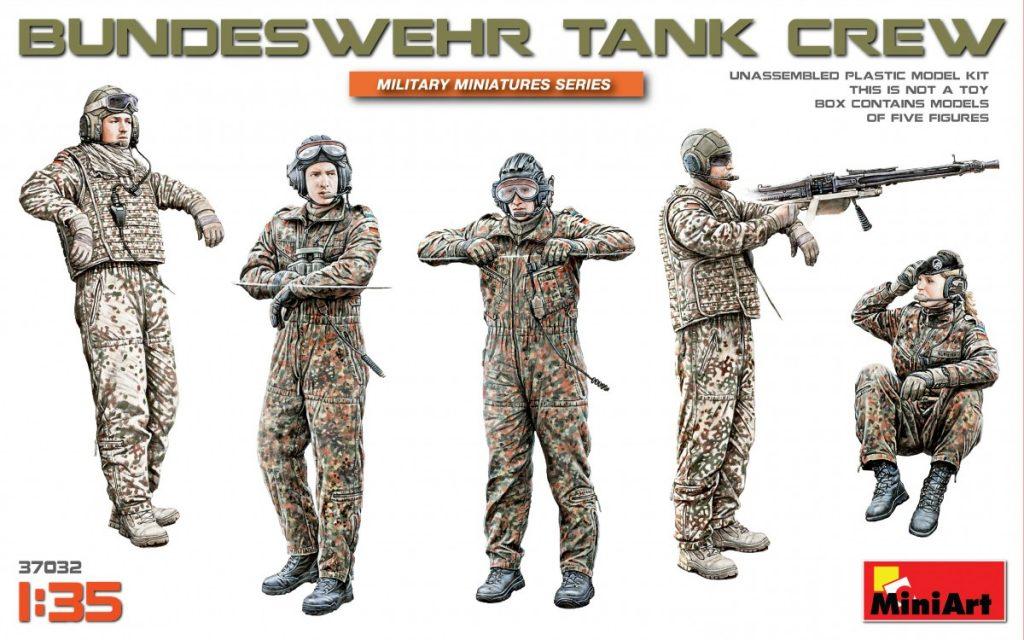 MiniArt Bundeswehr Tank Crew (1/35)