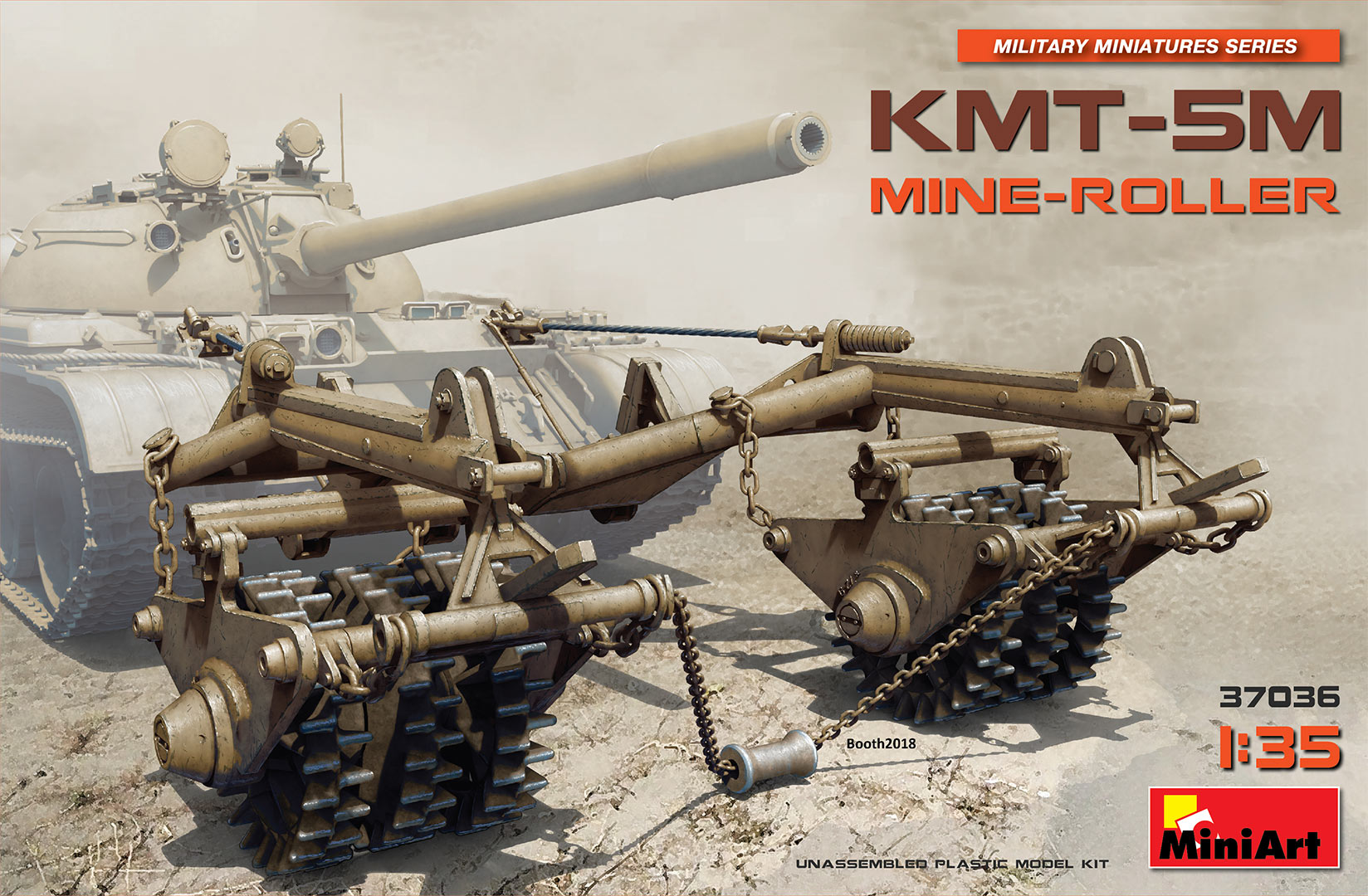 MiniArt KMT-5M Mine-Roller (1/35)