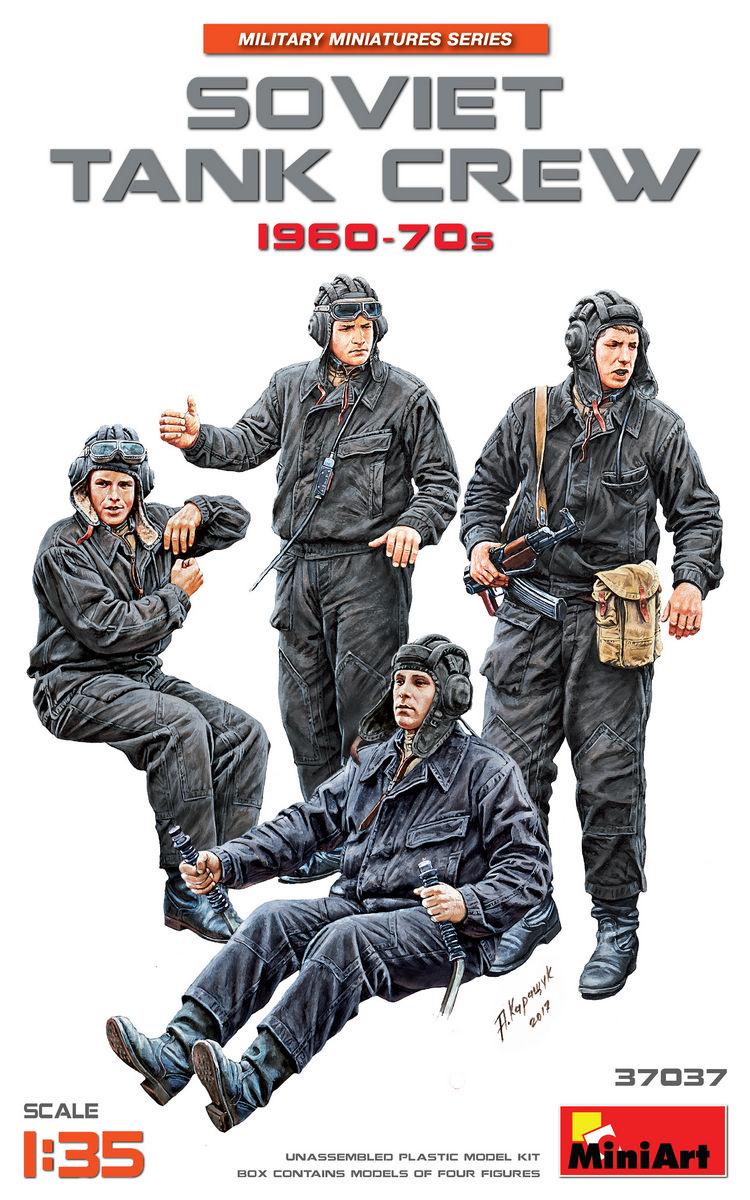 MiniArt Soviet Tank Crew 1960-70s (1/35)