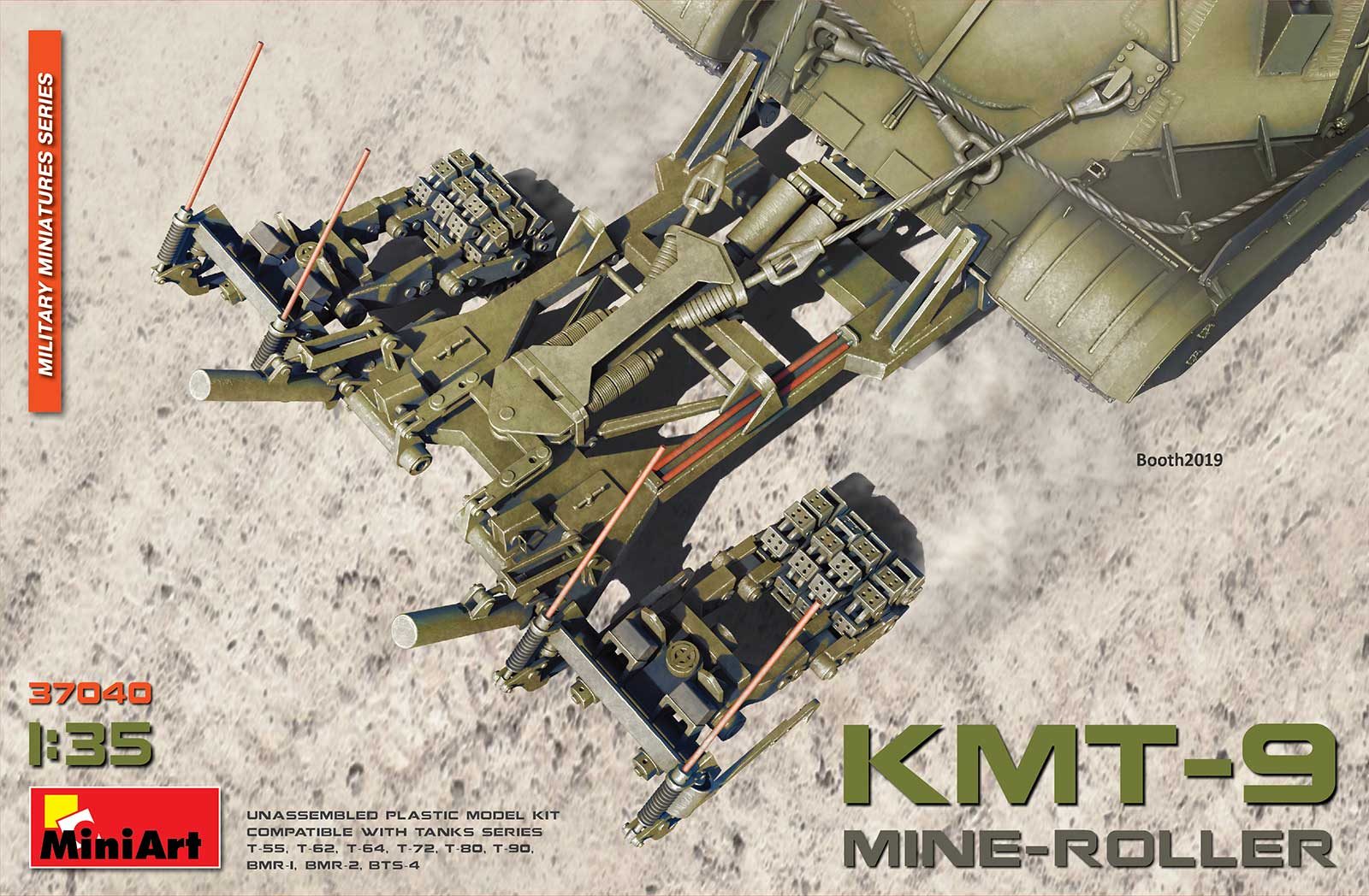 MiniArt Mine-Roller KMT-9