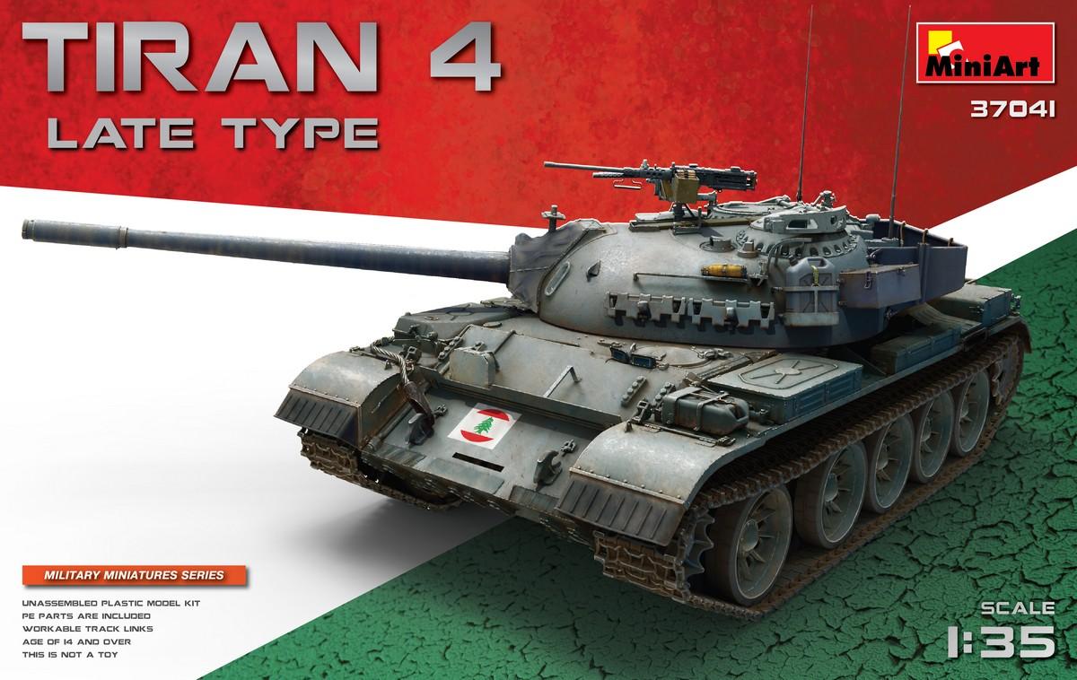 MiniArt Tiran 4 Late Type (1/35)