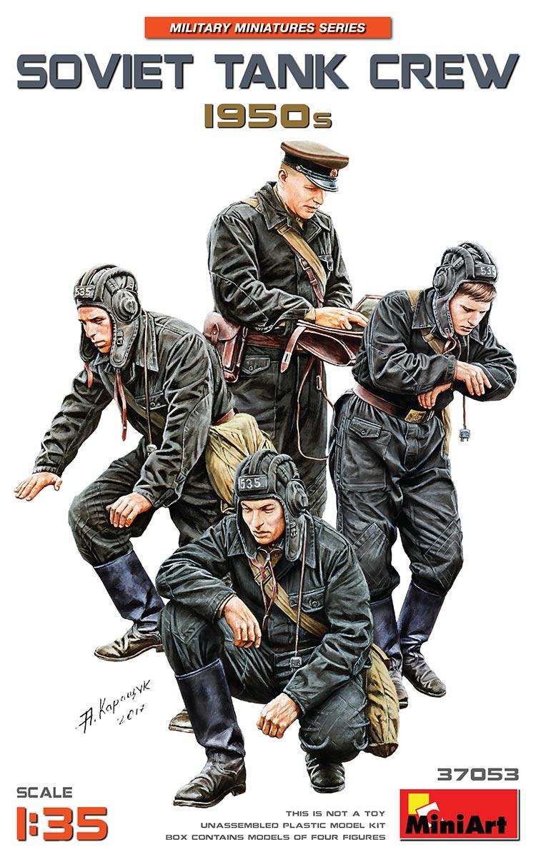 MiniArt Soviet Tank Crew 1950s