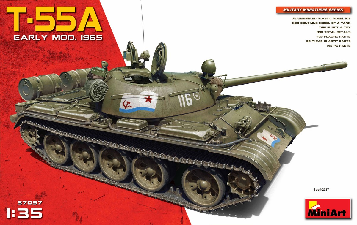 MiniArt T-55A Early Mod. 1965 (1/35)