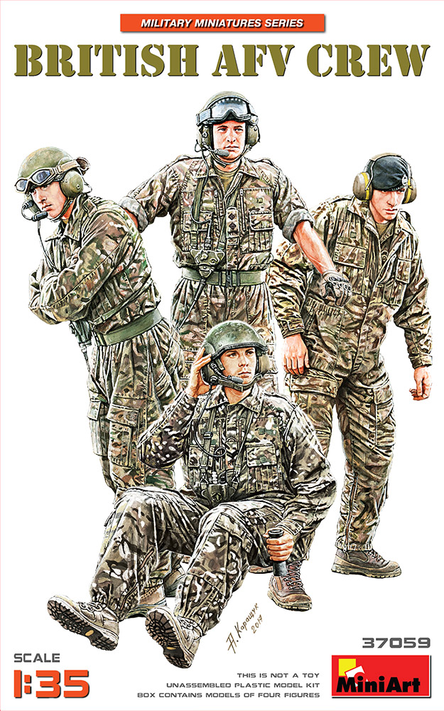 MiniArt 1/35 British AFV Crew