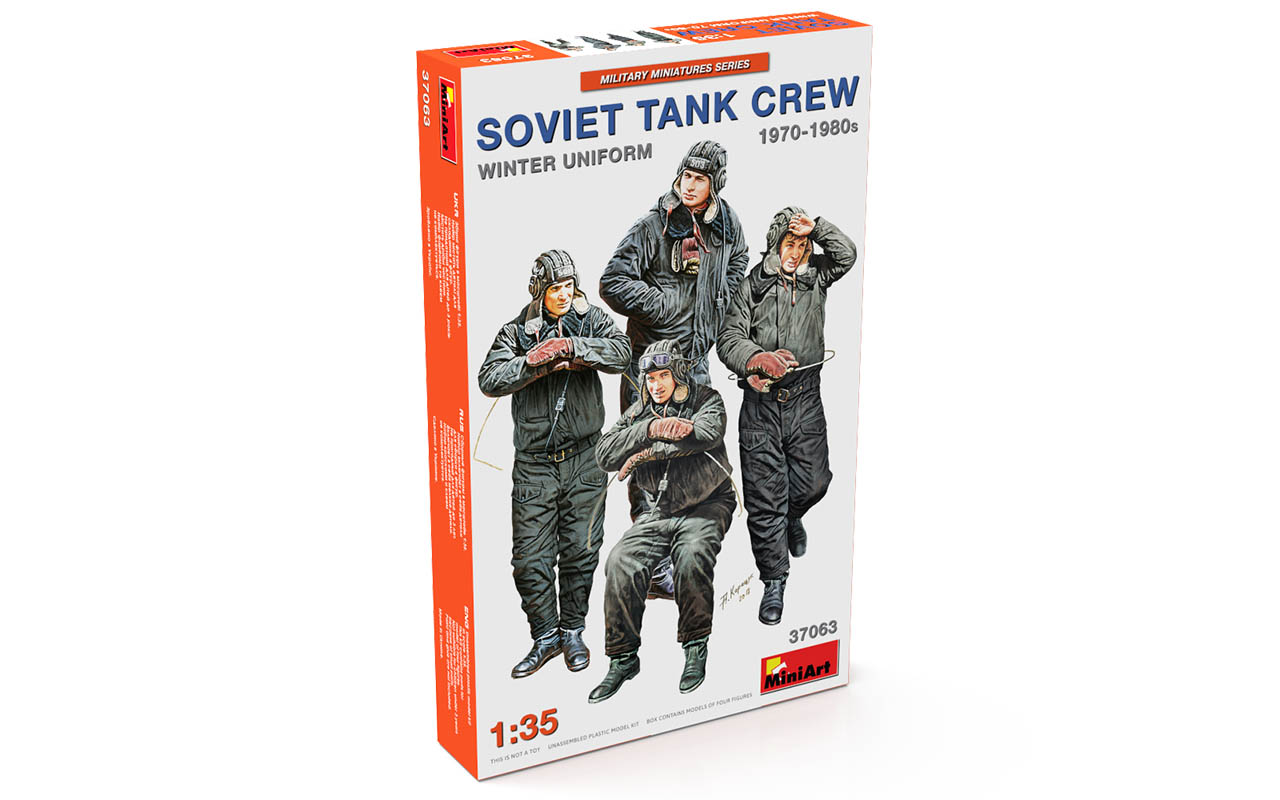 MiniArt Soviet Tank Crew 1970-1980s. Winter Uniform
