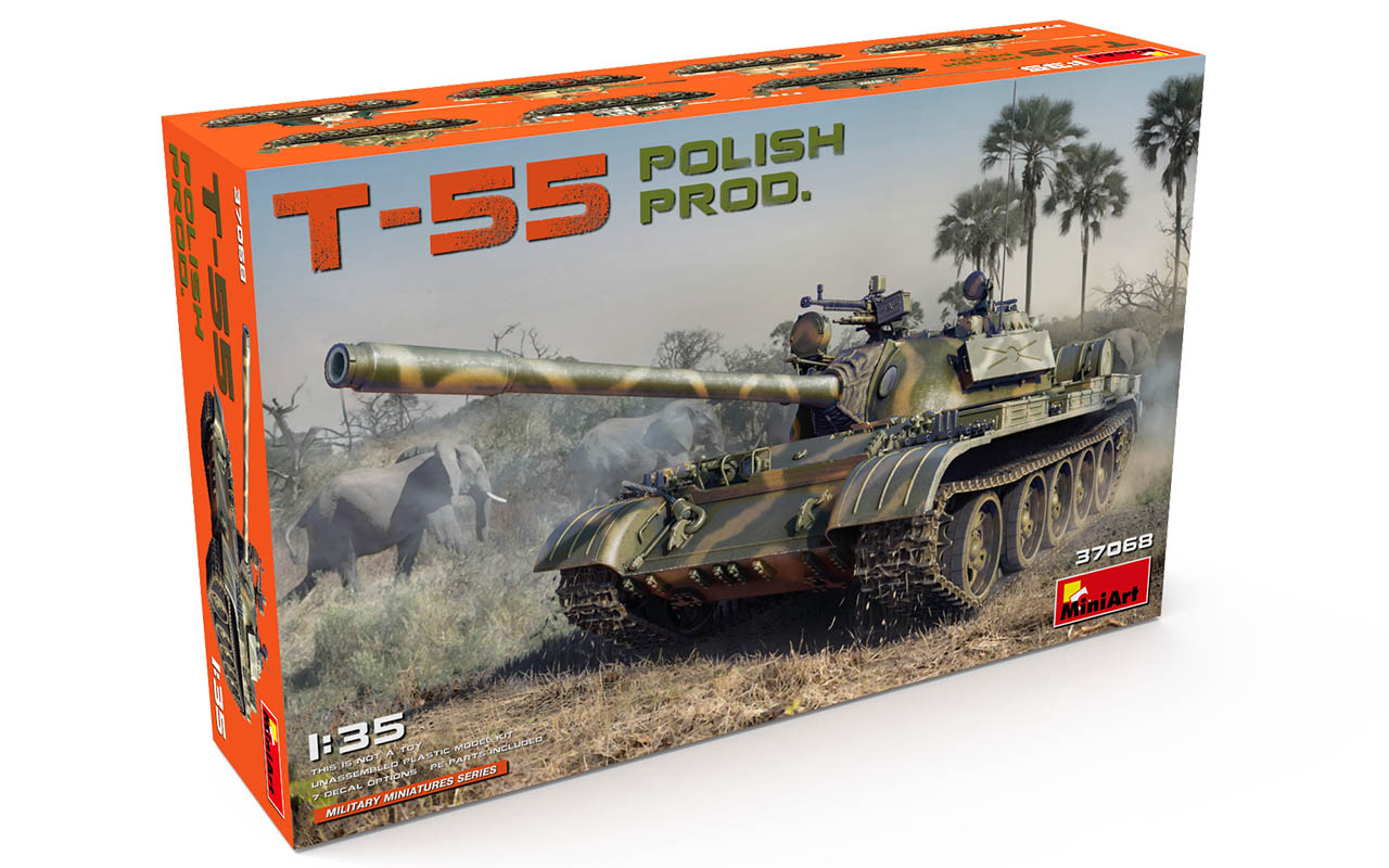 MiniArt T-55 Polish Prod.