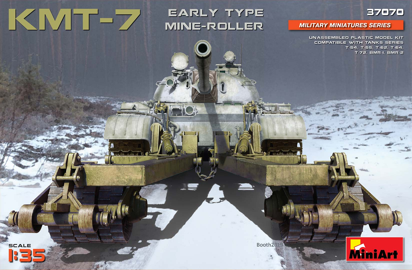 MiniArt KMT-7 Early Type Mine-Roller