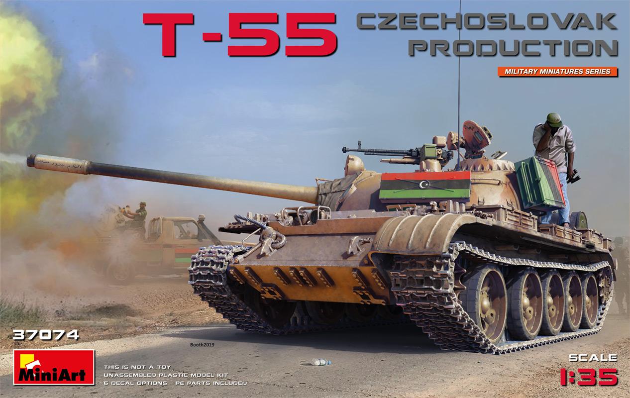 MiniArt T-55 Czechoslovak Prod.