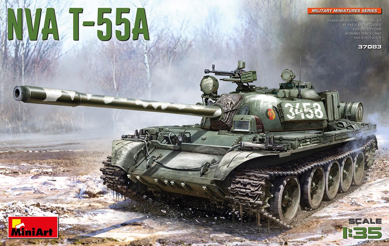 MiniArt 1/35 NVA T-55A