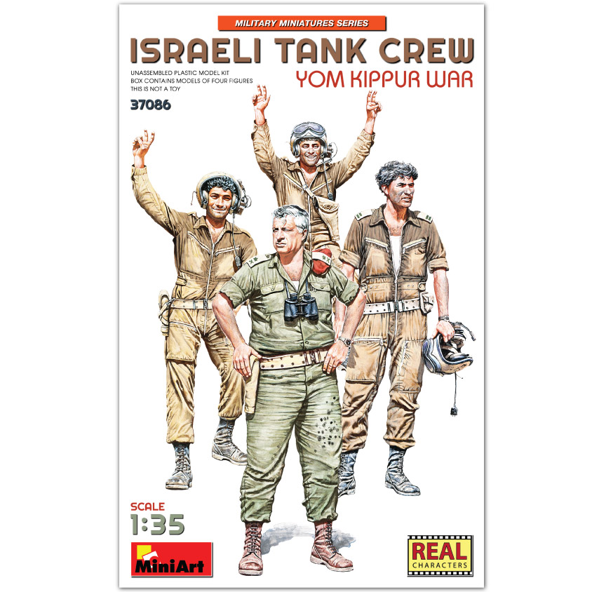 MiniArt 1/35 Israeli Tank Crew. Yom Kippur War
