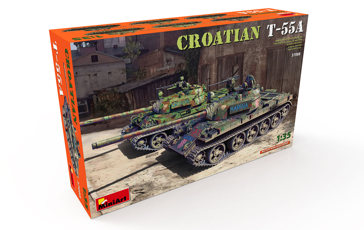 MiniArt Croatian T-55A