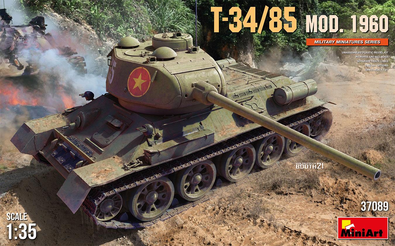MiniArt 1/35 T-34-85 Mod. 1960