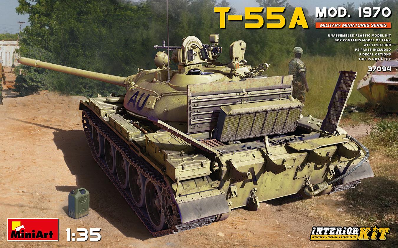 MiniArt 1/35 T-55A Mod. 1970 Interior Kit