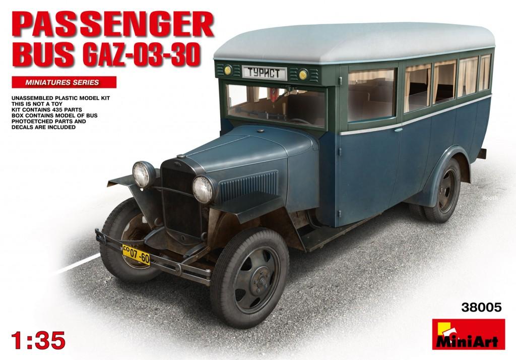 MiniArt 1/35 Passenger Bus GAZ-03-30