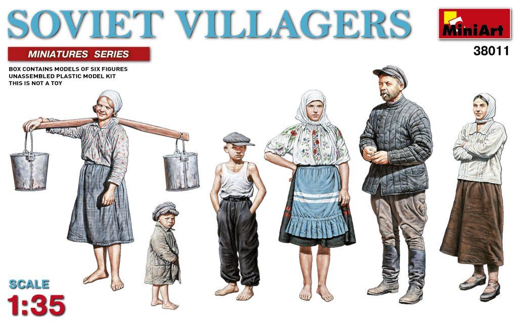 MiniArt Soviet Villagers (1/35)