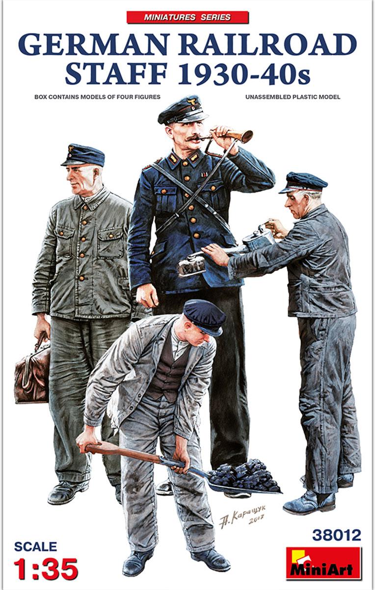 MiniArt German Railroad Staff 1930-40s