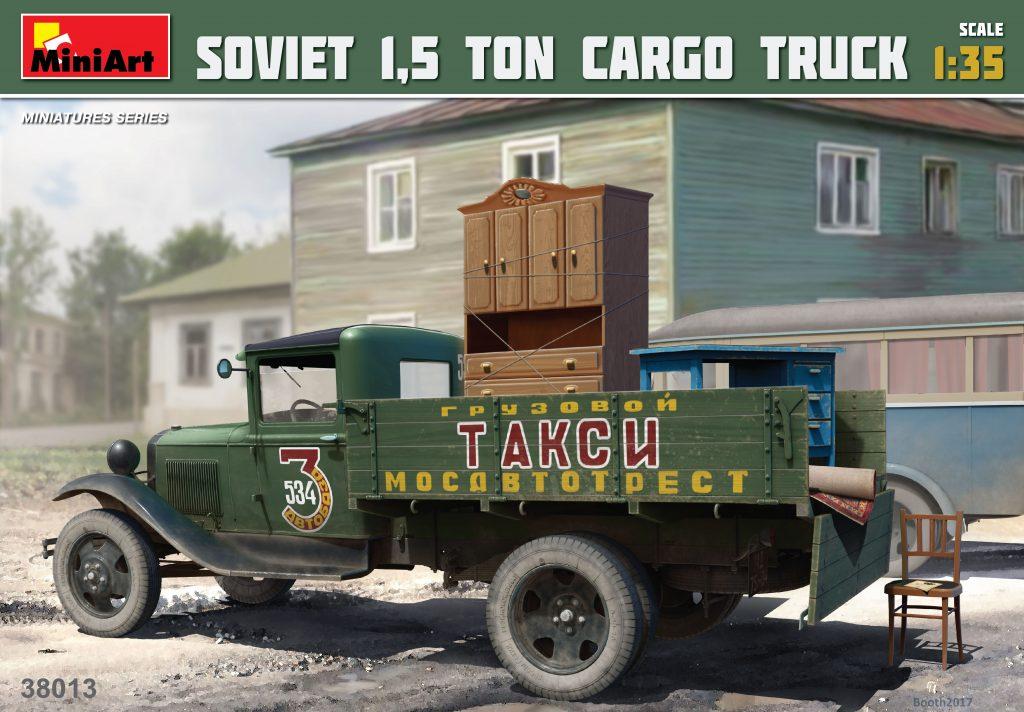 MiniArt Soviet 1,5 ton Cargo Truck (1/35)