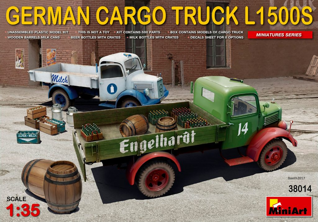 MiniArt German Cargo Truck L1500S Type (1/35)
