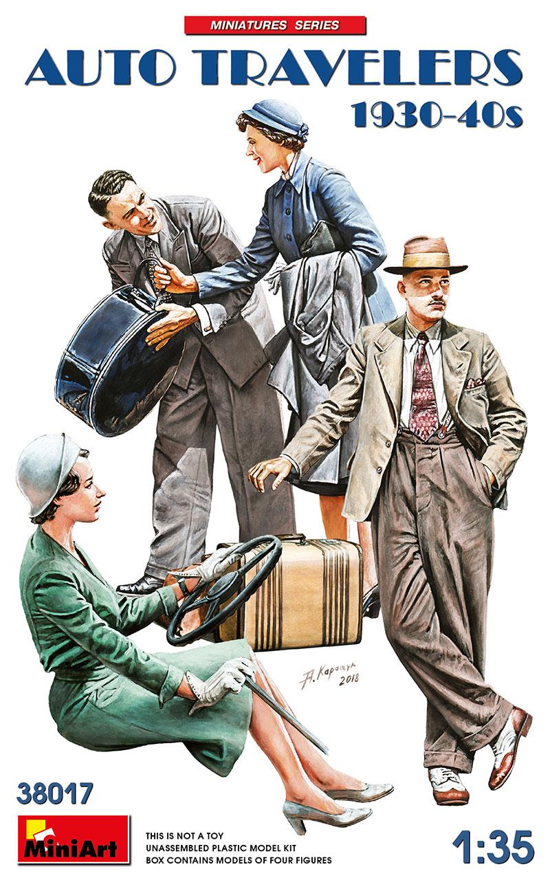 MiniArt Auto Travelers 1930-40s