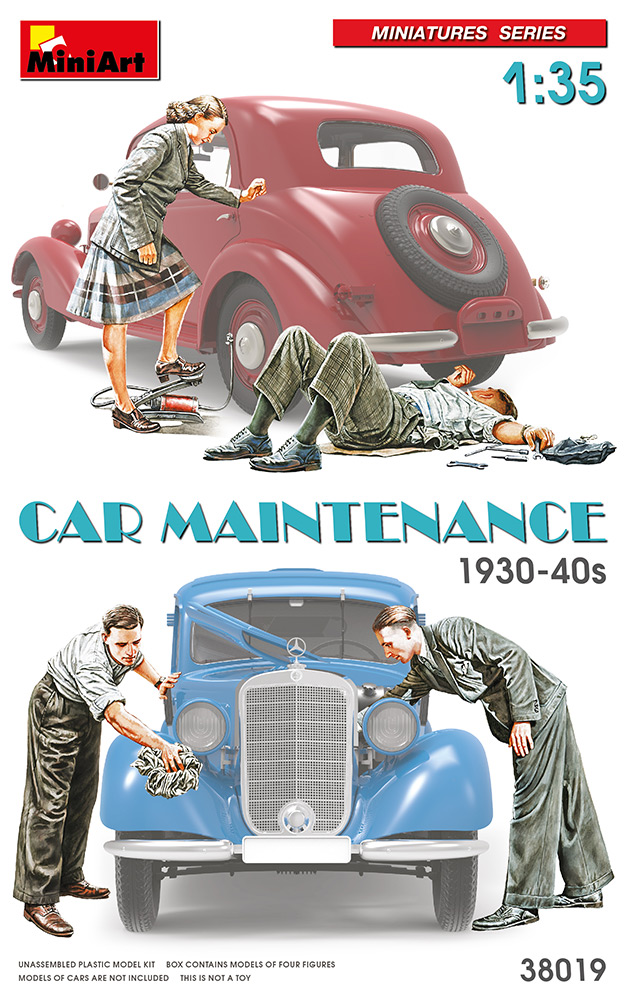 MiniArt Car Maintenance  1930-40s