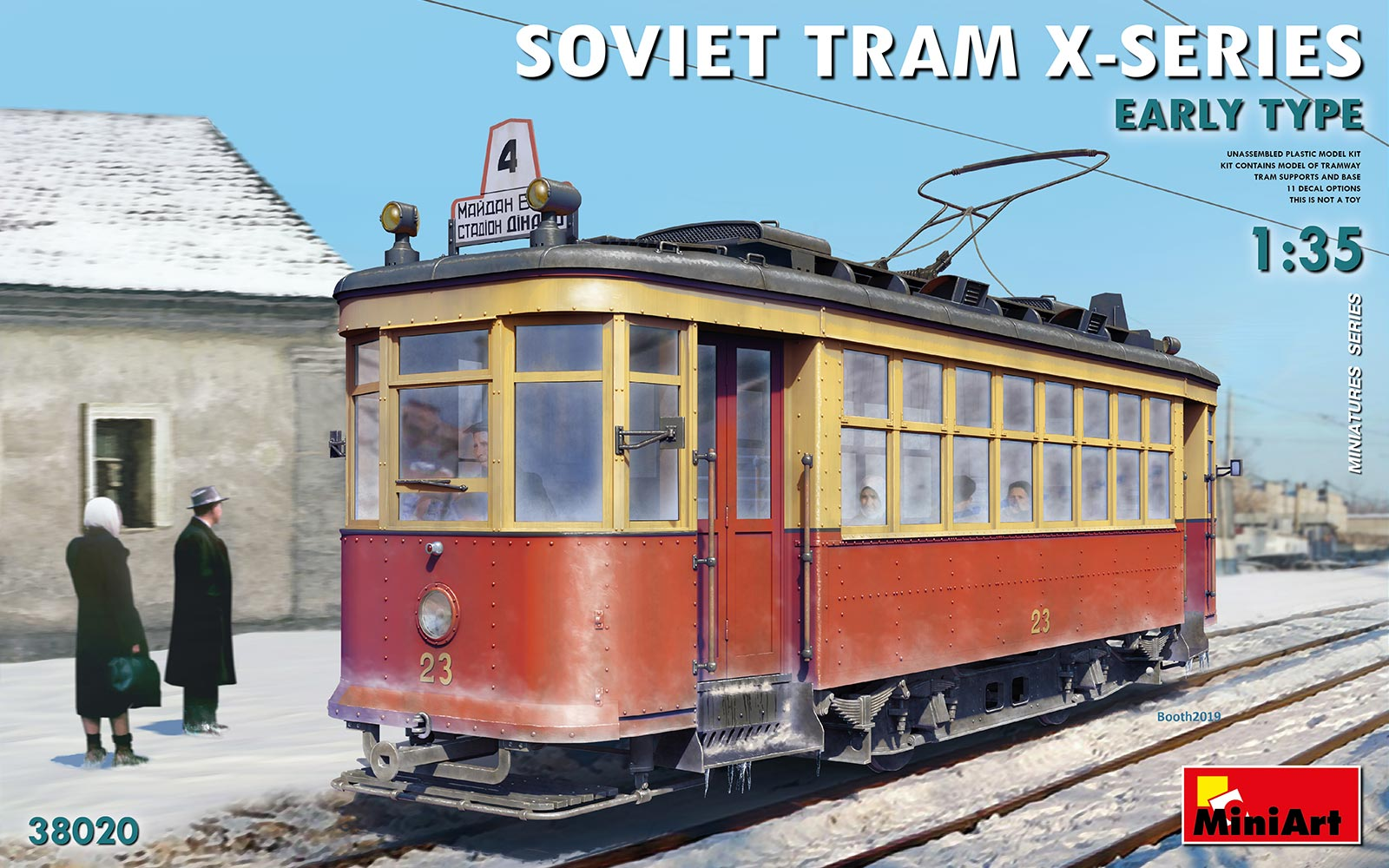 "MiniArt Soviet Tram ""X""-Series. Early Type"