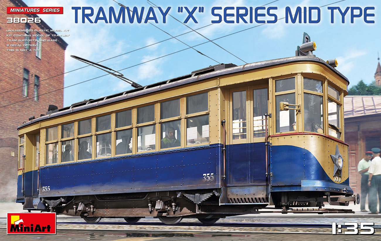 MiniArt 1/35 Tramway X-Series Mid Type